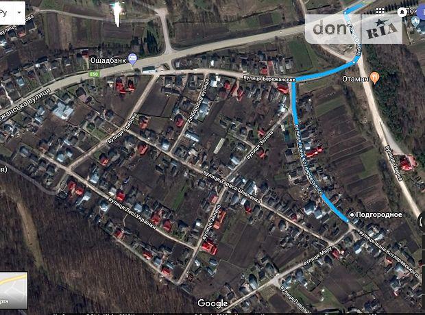 Земля под жилую застройку в селе Подгородное, площадь 19 соток фото 1