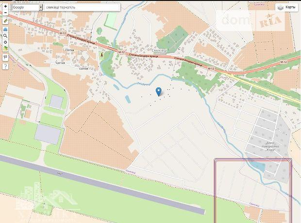 Продаж ділянки під житлову забудову, Тернопіль, р‑н.Смиківці, за Аеропортом
