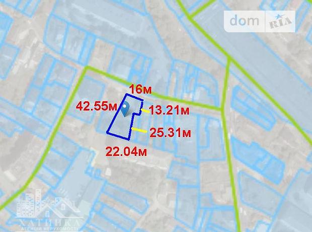 Земля под жилую застройку в Тернополе, район Центр, площадь 7.4 соток фото 1