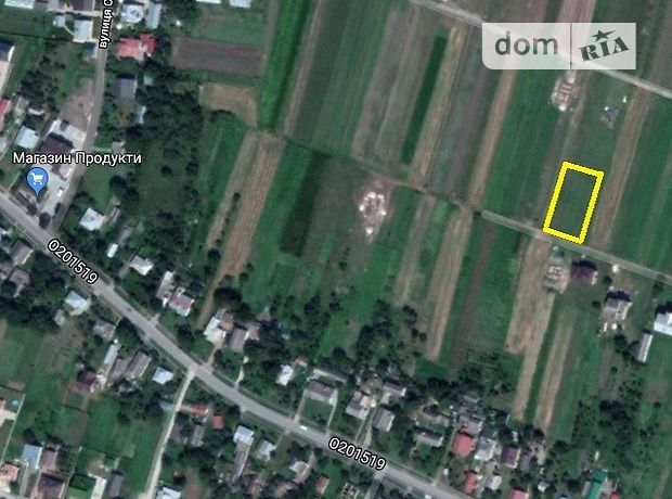 Земля под жилую застройку в селе Великие Гаи, площадь 12.73 соток фото 1