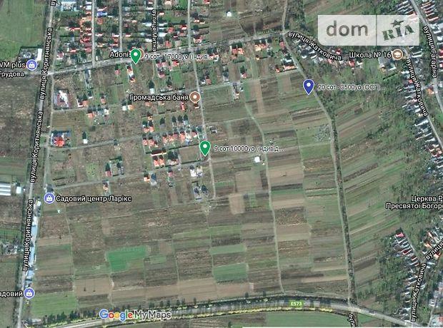 Продажа участка под жилую застройку, Ужгород, р‑н.Дравци, Франко Ивана улица