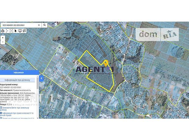 Земля под жилую застройку в селе Крушинка, площадь 630 соток фото 1