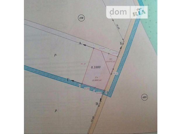 Земля под жилую застройку в селе Комаров, площадь 10 соток фото 1
