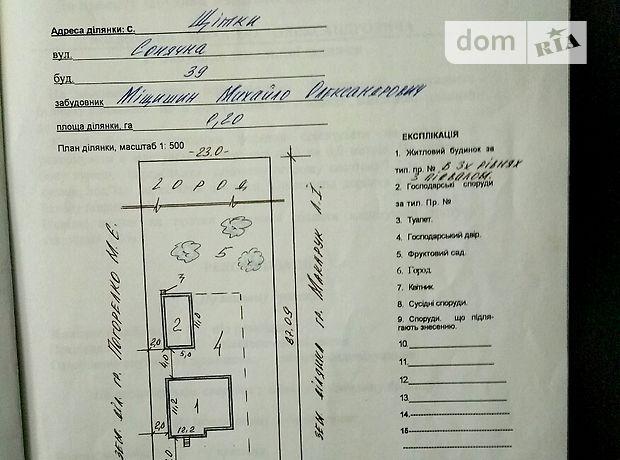 Продажа участка под жилую застройку, Винница, c.Щитки, Солнечная улица