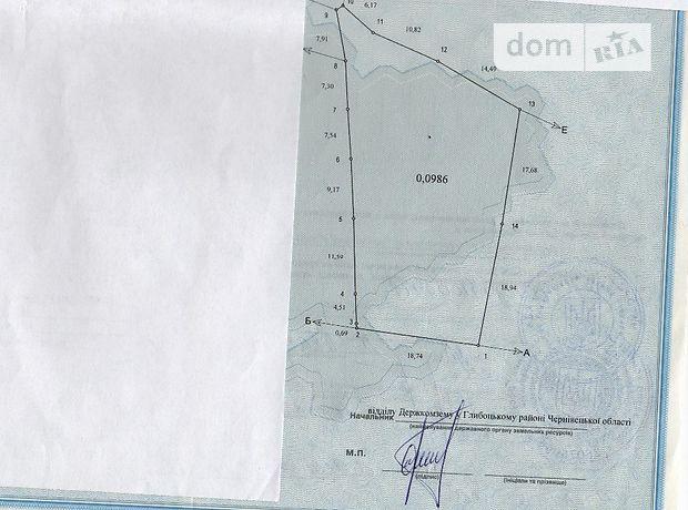 Продаж землі комерційного призначення, Чернівці, р‑н.Чагор, Незалежності 43