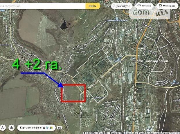 Земля комерційного призначення в Дніпропетровську, район 12 квартал, площа 4 Га фото 1