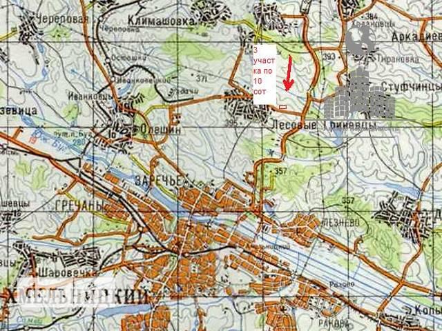 Продажа земли коммерческого назначение, Хмельницкий, c.Лесовые Гриновцы