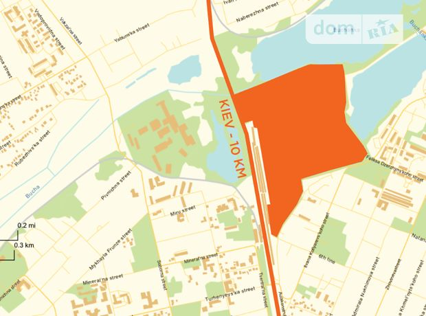 Земельный участок коммерческого назначения в Ирпене, площадь 4000 Га фото 2