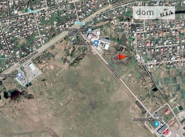 Земля коммерческого назначения в Житомире, район Аэропорт, площадь 60 соток фото 2