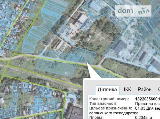 Продажа земли коммерческого назначение, Житомир, р‑н.Крошня