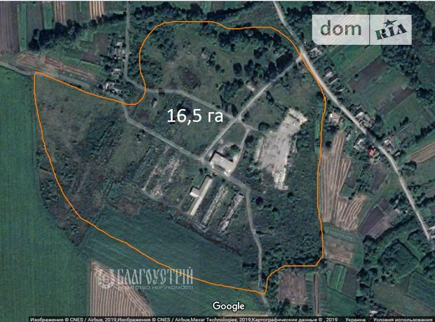 Земля комерційного призначення в селі Чернятин, площа 16.5 Га фото 1