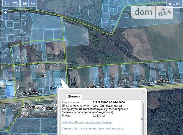 Продажа земли коммерческого назначение, Київська, Макарів, c.Калинівка