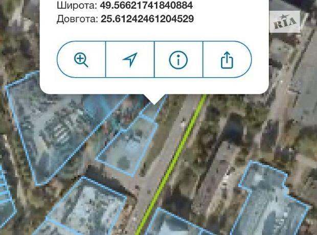 Земля коммерческого назначения в Тернополе, район Бам, площадь 3 сотки фото 2