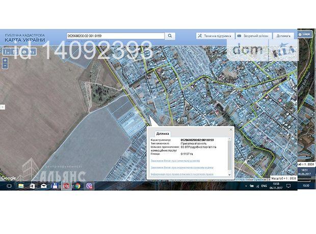 Продажа земли коммерческого назначение, Винница, р‑н.Агрономичное, Окружна