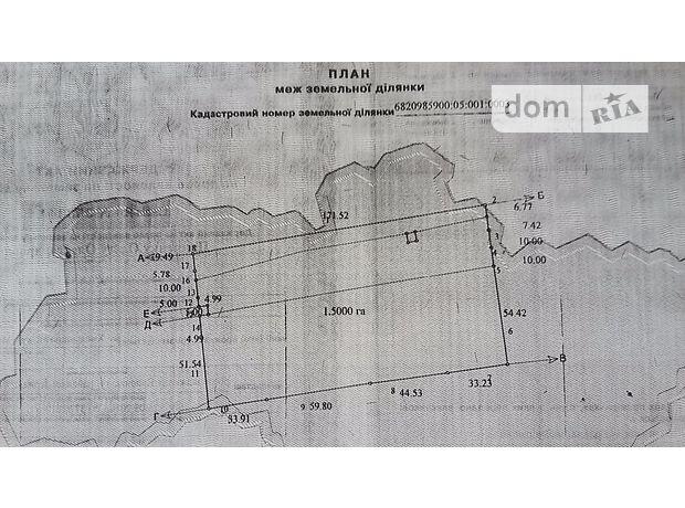 Продажа земли коммерческого назначение, Хмельницкая, Волочиск, р‑н.Волочиск