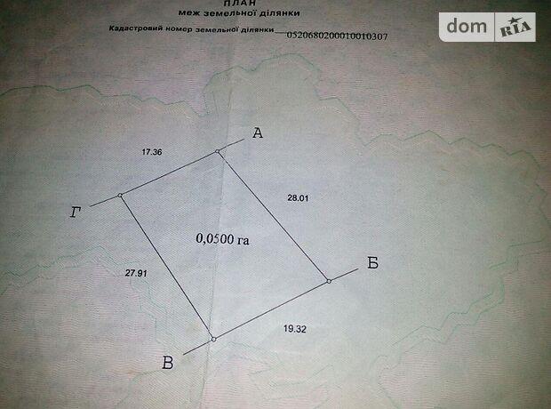 Земля рекреационного назначения в Виннице, район Барское шоссе, площадь 5 соток фото 1