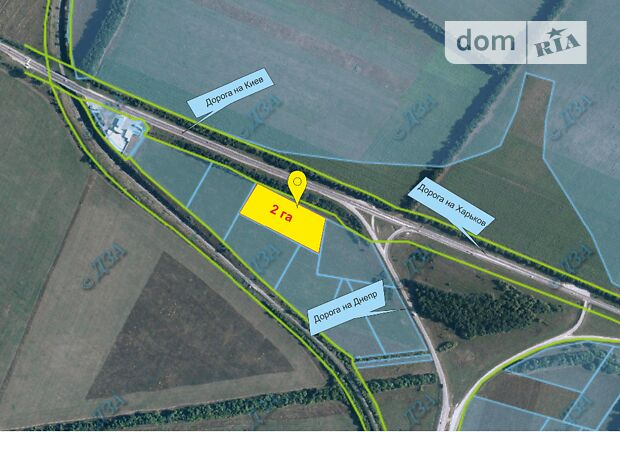 Земля сельскохозяйственного назначения в селе Коротыч, площадь 2 Га фото 2