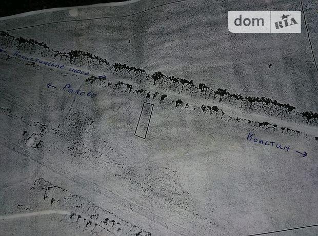 Продажа земли сельскохозяйственного назначения, Хмельницкий, р‑н.Копыстин, Копистинское шоссе
