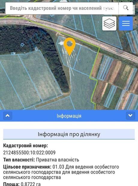Земля сельскохозяйственного назначения в селе Среднее, площадь 87 соток фото 1