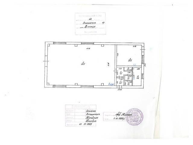 Продажа производственного помещения, Вінниця, Железнодорожная  улица