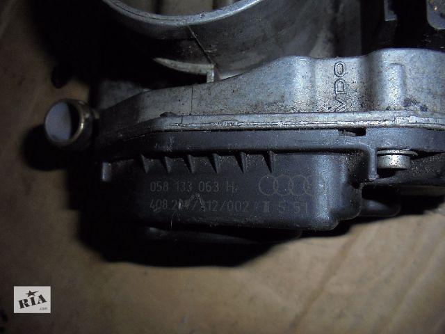 058133063h Б/у дросельная заслонка/датчик для легкового авто Volkswagen B5 1999- объявление о продаже  в Львове