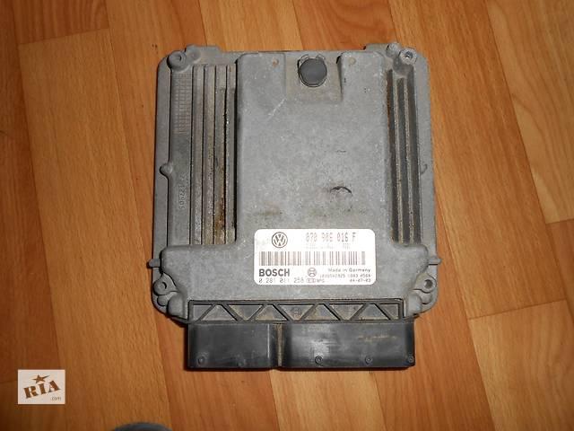купить бу 070906016F Блок управления двигателем Volkswagen Touareg Фольксваген Туарег 2003г-2009г в Ровно
