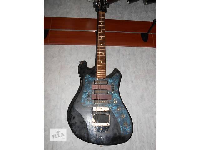 """( 0742 ) Электро гитара""""Аэлита"""" Супер вариант для Начинающих- объявление о продаже  в Чернигове"""