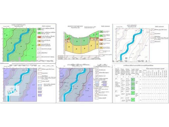 Карты по Инженерной геологии- объявление о продаже   в Украине