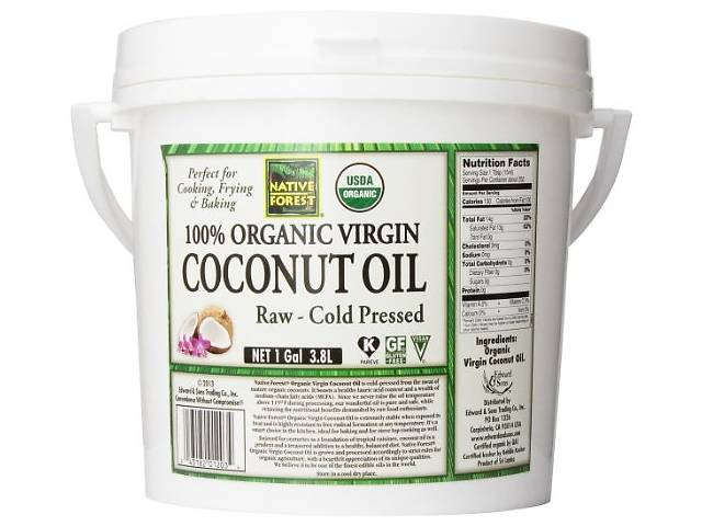 купить бу 100 % натур.кокосовое масло Native Forest, холодный отжим  в Киеве