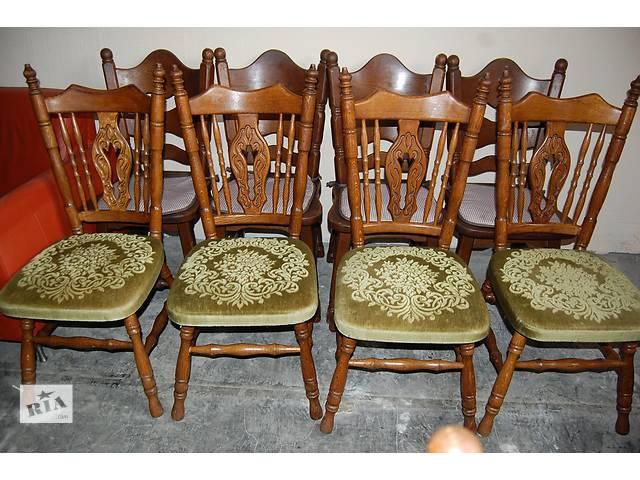 купить бу №1286.Комплект 4 стула дубовых бу из Голландии в Киеве