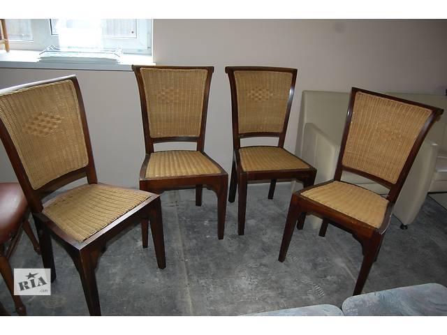 бу №1289.Комплект 4 стула дубовых бу из  Голландии в Киеве