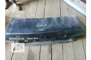 б/у Крышки багажника Renault 21