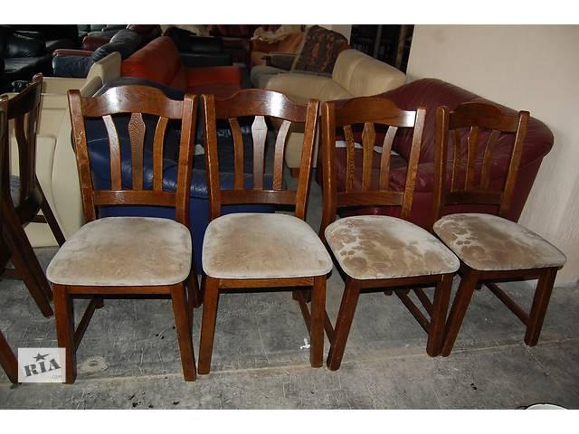 купить бу №1290.Комплект 4 стула дубовых бу из Голландии  в Киеве