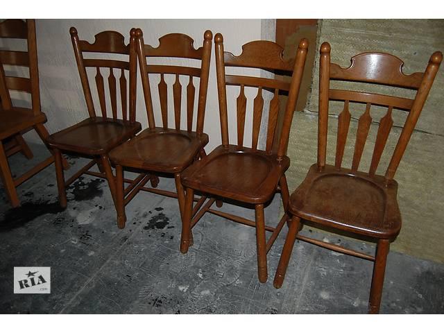 продам №1292.Комплект 4 стула дубовых бу из Голландии бу в Киеве