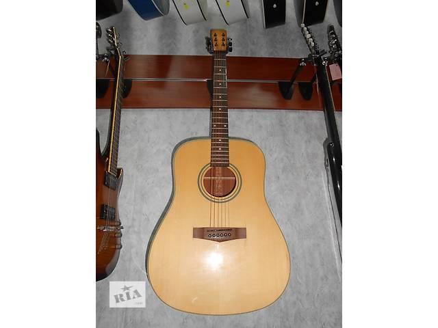 бу ( 1424 ) Замечательная акустическая гитара Ibanez и её Видео обзор в Чернигове