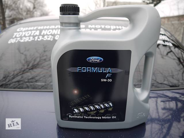 155D3A Оригінальне моторне масло FORD Formula F SAE 5w-30 5л (EU)- объявление о продаже  в Днепре (Днепропетровск)