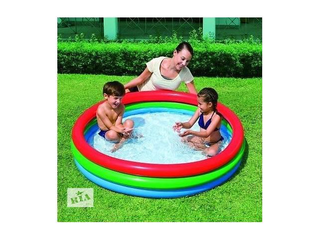 152х30см Бассейн детский надувной круглый BESTWAY 51103 - объявление о продаже  в Ровно