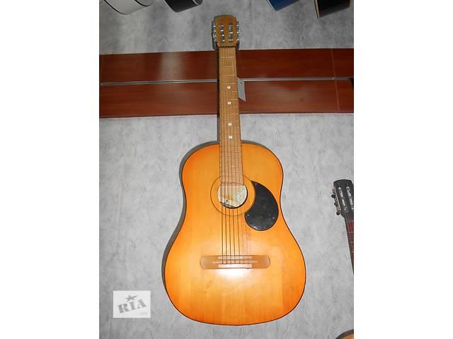 купить бу ( 1607 ) Неповторимая Ленинградская 7-струнная гитара! в Черкассах