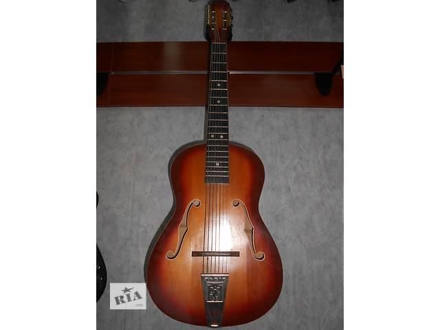 ( 1613 ) Замечательная 7ми струнная Львовская гитара- объявление о продаже  в Чернигове