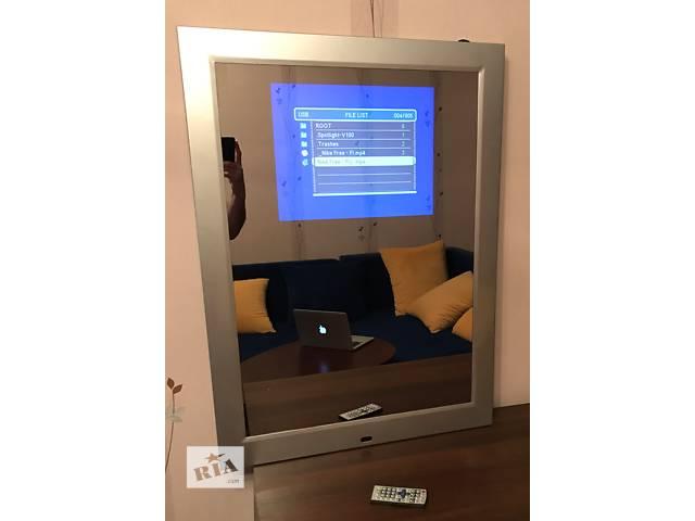 бу 17 дюймовый экран в зеркале. Рекламные мультимедиа в Киеве