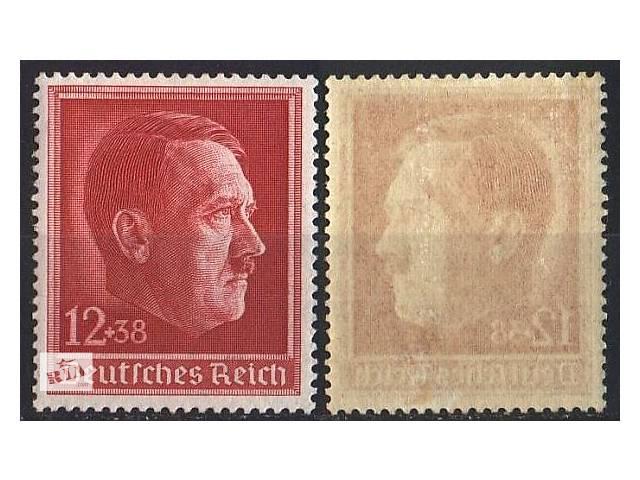 1938 - Рейх - 49 летие Гитлера Mi.664 **- объявление о продаже  в Ровно