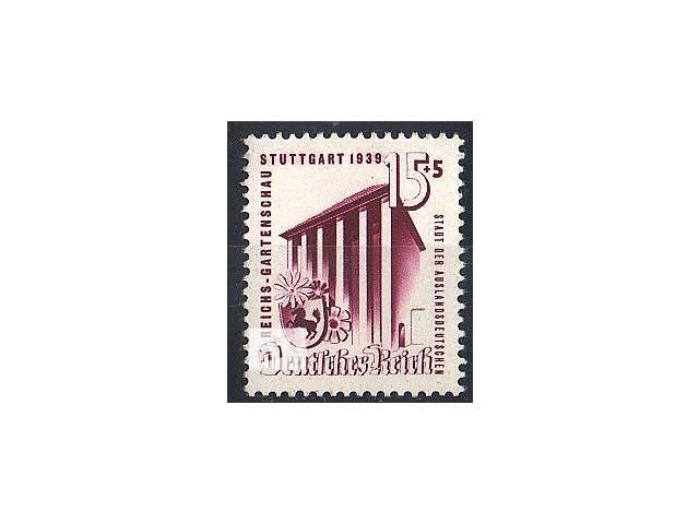 купить бу 1939 - Рейх - Выставка в Штутгарте Mi.693 ** в Ровно