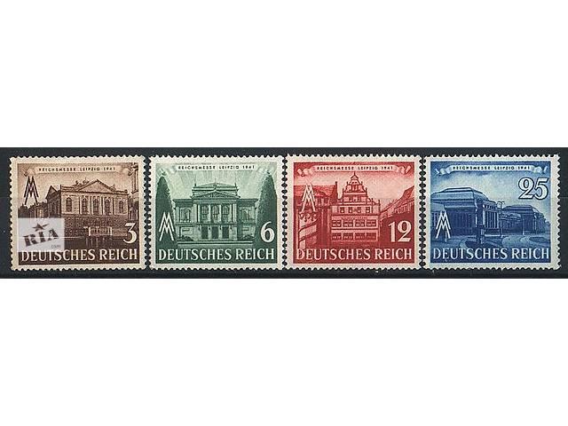 1941 - Рейх - Ярмарка в Лейпциге Mi.764-67 **- объявление о продаже  в Ровно