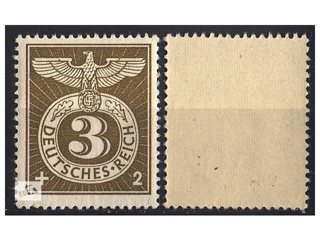 бу 1943 - Рейх - Спецштемпель Mi.830 ** в Ровно