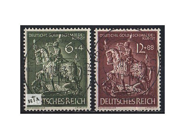 1943 - Рейх - Ювелирное искусство Mi.860-61- объявление о продаже  в Ровно