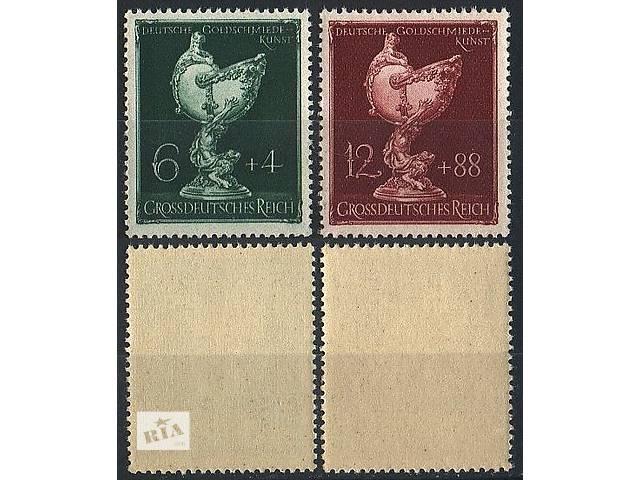 бу 1944 - Рейх - Ювелирное искусство Mi.902-903 ** в Ровно