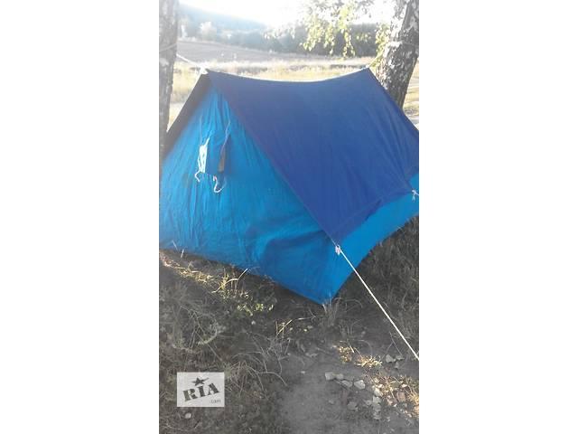 продам 3х-местная брезентовая палатка пр-ва СССР бу в Виннице