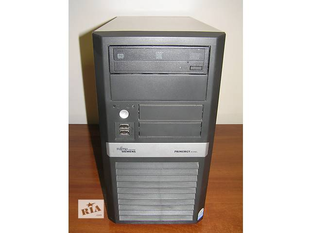 купить бу 2-ух ядерник! Fujitsu Intel Dual 1.8Ghz 2Gb DDR2 160Gb SATA DVD ATI в Киеве