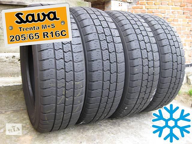 продам 205/65 R16C Sava Trenta M+S (зима) 7мм 4шт бу в Львове