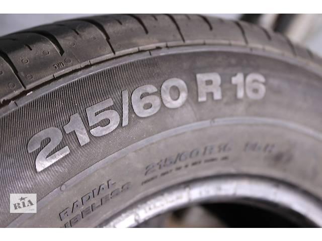 бу 215-60-R16 95h Continental Conti Premium Contact-5 Germany пара 2 штуки резины в Харькове